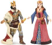 Papo King Ivan 39047 With Queen 39048 2 Figures Set