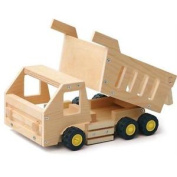 Red Toolbox Dump Wooden Truck Construction Kit