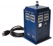 "Dr Who DR115 ""The Official Doctor Who Tardis Hub"" Police Phone Box"