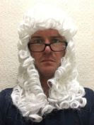 LORD JUSTICE Judge Wig Barrister Downton Abbey Fancy Dress Party