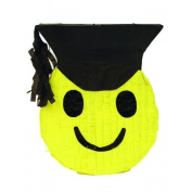 Graduation Smiley Pinata / Birthday Party Game and Decorations