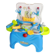 Doctor Medical Play Set Tool for Children in Removable Carrycase Stool Role Play