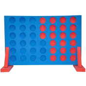Giant Connect Four 4 in A Row Garden Outdoor Game Childrens Kids Adult Family Fun Toy Pub Game
