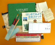 Most popular items! Are ready to start Watercolour set!