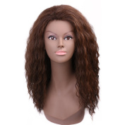 Miss Rola Cosplay Long Water Wave 43cm Ombre Colour Synthetic High Temperatuer As Real Hair Wigs For Women Fashion And Sexy Natural Wavy