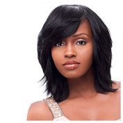 Danlier Synthetic Hair Wigs For Black Women Heat Resistant Shoulder Length Wigs Layered Bob Wigs