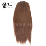 Straight Synthetic High Temperature Fibre Drawstring Ponytail Hair Pieces for Women (13inchs