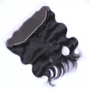 MeiRun Body Wave Closure 13X4 Lace Frontal Closure Free Part Ear To Ear Full Lace Closure 7A Grade Natural Black