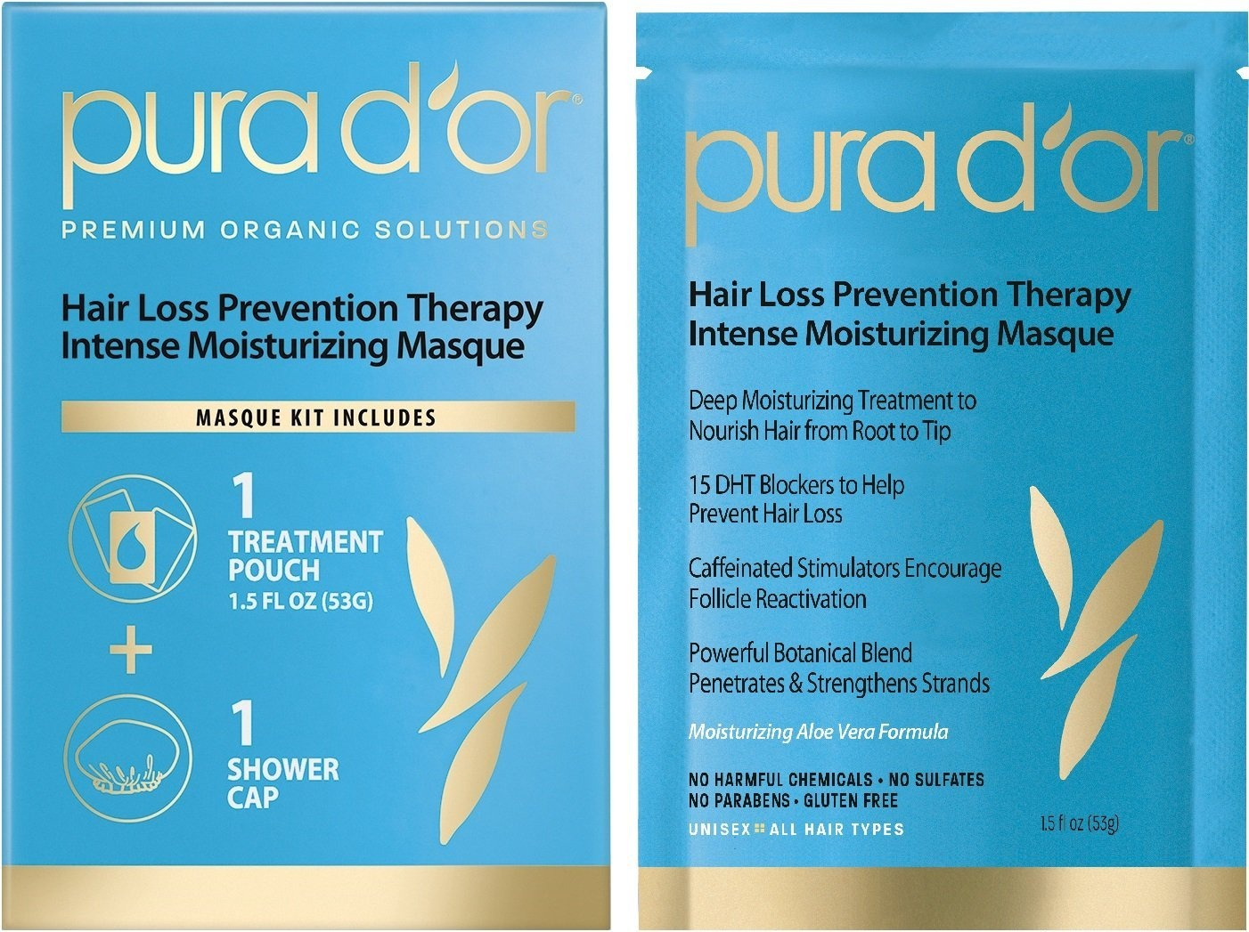 Pura D Or Hair Loss Prevention Therapy Intense Moisturising Masque