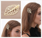 FASCHI Mix 11Styles Hairpin Hair Clips, Filigree Leaf Butterfly Starfish Triangle Geometric Barrette Bobby Pin Ponytail Holder Statement Headwear Styling Jewellery GIFT