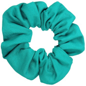 Jade Cotton Jersey Scrunchies Large Jumbo Ponytail Holders Scrunchie King Made in the USA