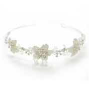 VANKOKO Wedding Tiara Hair Hoop for Bride Headpiece Hair Accessories