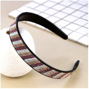 Casualfashion Fashion Women's Rhinestone Headbands Beauty Hair Head Hoop Band Hairband