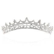 Yilanair Wedding Bridal Rhinestone Crystal Headband Crown Tiara for Women