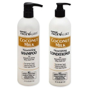 Harmon Face Values Nourishing Coconut Milk shampoo(620ml) & conditioner