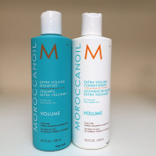 Moroccan Oil Extra Volume Shampoo and Conditioner 8.5 oz / 250 ml DUO SET