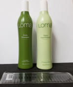Loma Daily Shampoo and Conditioner 350ml Each Bottle 24 Total Oz with Comb