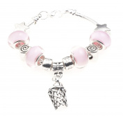 Netball/Basketball Sport Themed Childrens Charm Bracelet with Gift Box Girls Jewellery