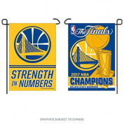Golden State Warriors NBA Champions Double Sided Garden Banner