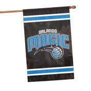 Party Animal NBA Sports Team Logo Orlando Magic Applique Banner Flag 110cm x 70cm
