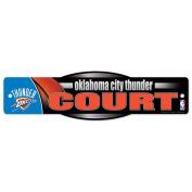 NBA Oklahoma City Thunder 06438010 Street/Zone Sign, 11cm x 43cm