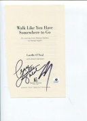 Shaquille Shaq O'Neal & Mom Lucille LA Lakers Olympic Gold Signed Autograph COA - NBA Autographed Miscellaneous Items