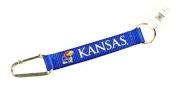 NCAA Kansas Jayhawks Carabiner Lanyard Keyring