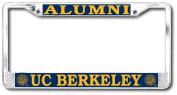 UC Berkeley Cal Alumni Licence Plate Frame- Chrome