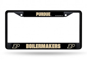 NCAA Purdue Boilermakers Chrome Frame, Black, 30cm by 15cm