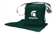 NCAA Michigan State Spartans Messenger Nappy Bag, 13.25 x 31cm x 15cm , Green