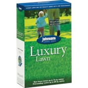 Johnsons Luxury Garden Grass Lawn Seed 500g / Covers 20 Sqm