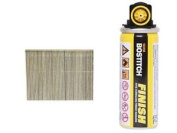 Bostitch 16g64fc 64mm Galvanised 16 Gauge Straight Finish Nails And Fuel Pack Of