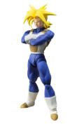 "Bandai Tamashii Nations 123620cm dragon Ball Z Super Saiyan Trunks"" Action Figures"