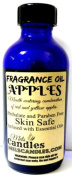 Apples 1oz / 29.5 ml Blue Glass Bottle of Fragrance Oil, Skin Safe Oil, Soap, Candles, Bath Bombs & More