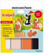 TRD Eberhard Faber Sculpey Iii Activity Kit Furry Friends