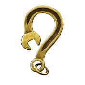 2PCs Cool strange Key chain Wrench Hook Biker Key clasp Clip
