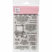 Sweet 'n Sassy Clear Stamps 10cm x 15cm -Born This Day