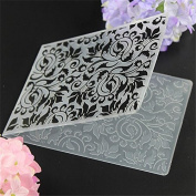 Katoot@ Cake Stencil Biscuit DIY Plastic Embossing Folder Mould Scrapbooking Album Card Cutting Dies Template Craft Tool