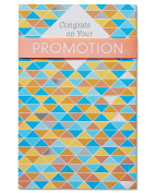 American Greetings Promotion Congratulations Card with Foil