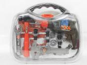Children Kids Battery Drill Tool Box Set DIY Builders Building Construction Toy