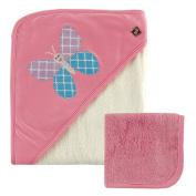 Bamboo Baby Hooded Bath Towel and Washcloth Set