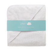 Luxury Organic Bamboo Hooded Baby Bath Towel by Dinky D - Newborn to Toddler Extra Large Size 90cm x 90cm - Super Absorbant Naturally Hypoallergenic Anti-Bacterial Eco-friendly and Extra Soft