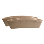 A-cool Car Seat PU Leather Console Gap Filler Side Pocket and Catcher Organiser Interior Accessories