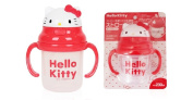 Hello Kitty Face Both Hand Baby Straw Cup, 1+1