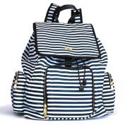 Kaylaa Premium Breast Pump Bag - Backpack (Luxury Stripe) - Fits ALL Breast Pumps, including Hospital Grade Pumps