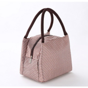 Lunch Bags Solid Lunch Tote Bag Travel School Picnic Lunch Bag with Zipper for Men and Women & Kids