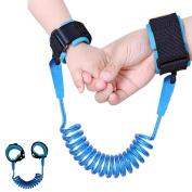 Anti Lost Wrist Link for Kids, BASEIN Safety Wrist Harness Strap Toddler Wrist Leash Children Anti Lost Wristband