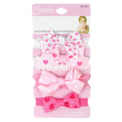 4PC BABY GROSGRAIN BOW