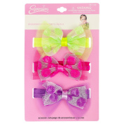 INFANT 3PC SEQUIN BOW HEADWRAPS