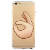 iPhone 7 Plus Case, Txibi Fashion Expression Design Flexible TPU Slim Phone Case Cover for iPhone 7 Plus 14cm
